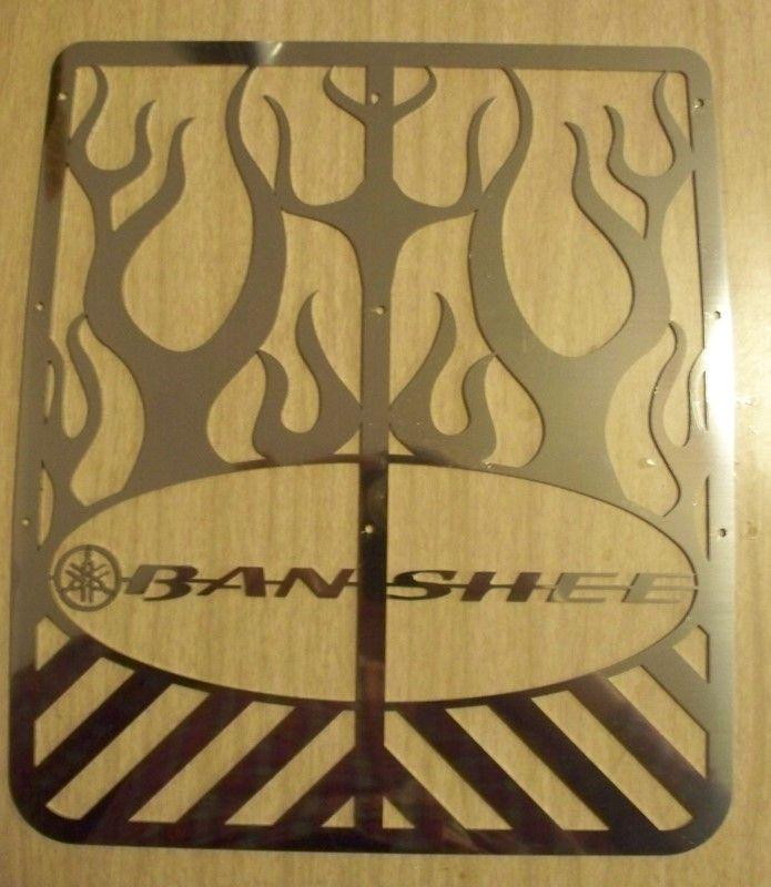 BANSHEE FLAMES YAMAHA BANSHEE STOCK GRILLE CUSTOM