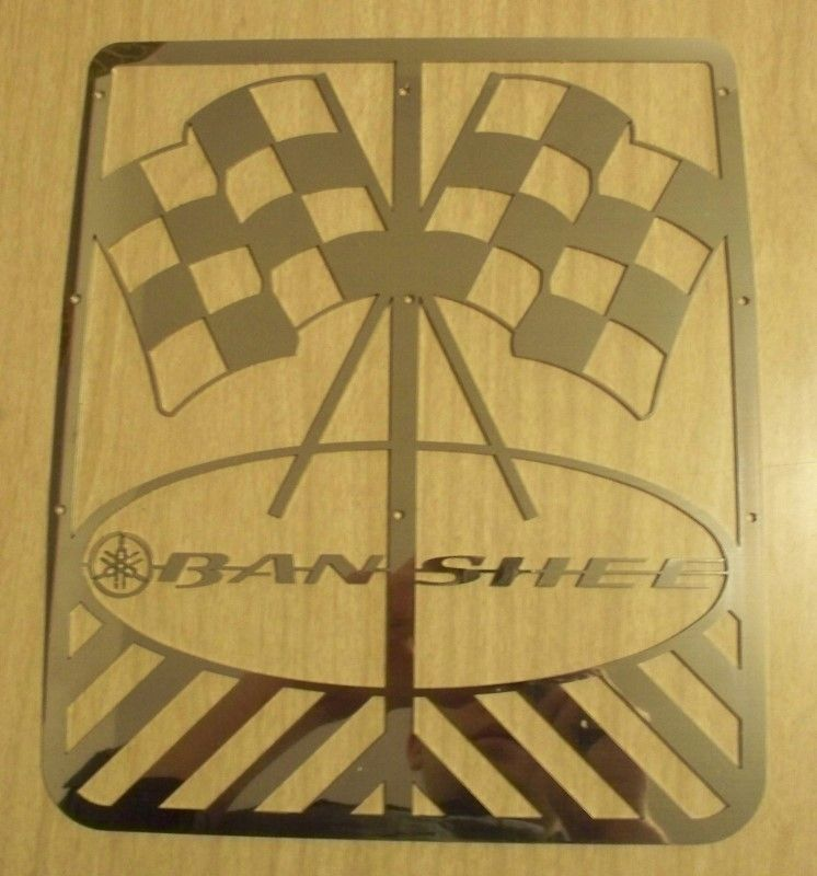 BANSHEE FLAGS YAMAHA BANSHEE STOCK GRILL CUSTOM