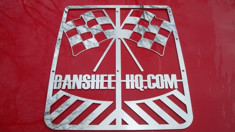 BANSHEE HQ FLAGS CUSTOM STOCK YAMAHA BANSHEE GRILLE