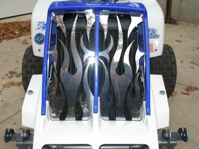 FLAMED YAMAHA BANSHEE STOCK GRILLE REPLACMENT