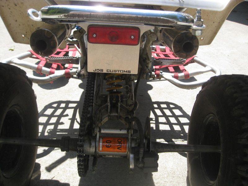 ORV Sticker Brackets / License Plate Brackets