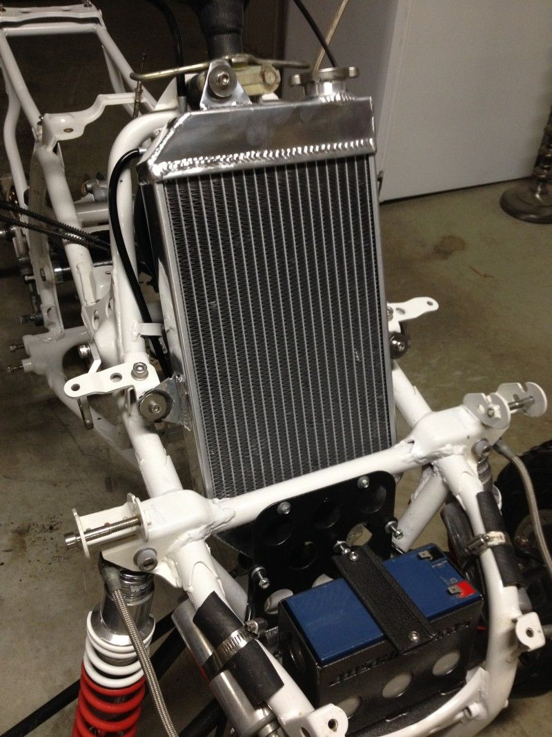 Yamaha Banshee Radiator
