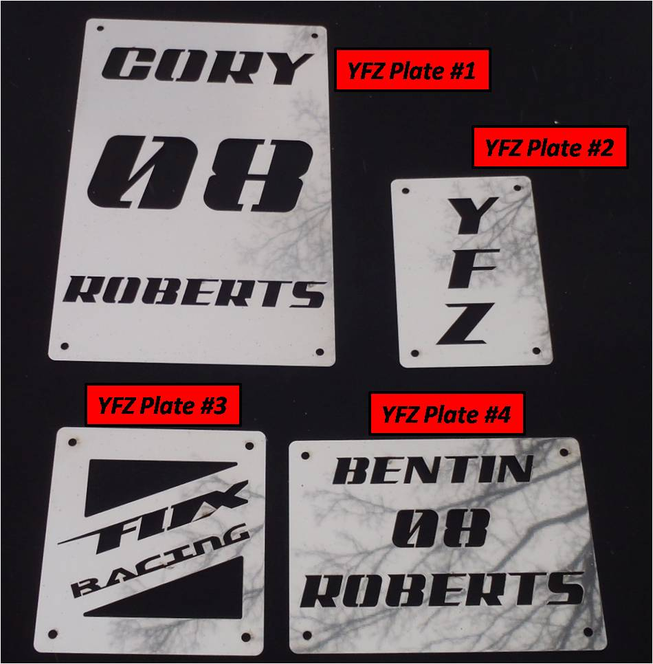 Yfz450 For Sale >> Yamaha YFZ450 Warning Labels (Set of 4) - JDS Customs