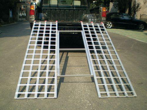 "Aluminum Atv Ramps >> 71"" x 51"" Tri-Fold Aluminum Ramp – 1200 LB - JDS Customs"