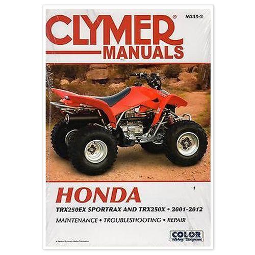 Service Manual Honda  U0026 39 01- U0026 39 05  Trx250ex Sportrax