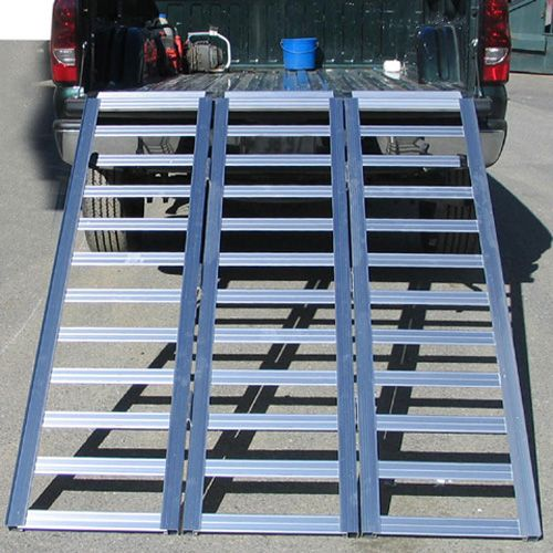 "Aluminum Atv Ramps >> Fulton Sport Ramp – Tri-Fold – 54"" x 77"" - JDS Customs"
