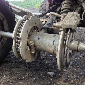 Sprocket/Rotor guards & Chassis Armor