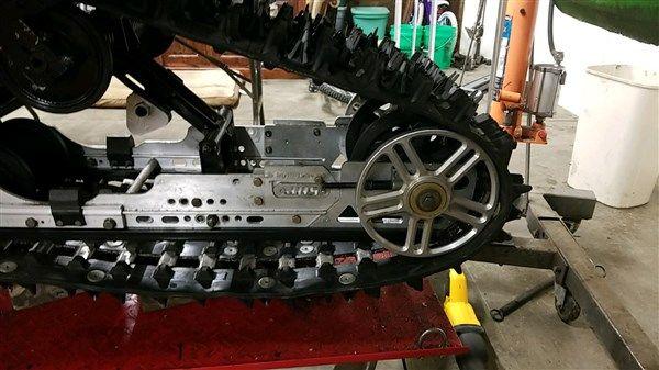 "Arctic Cat Track / Skid Rail Extensions (use 8"" rear bogie wheel) - JDS Customs"